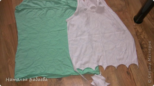 Мастер-класс Шитьё: мк переделка футболки Ткань.  Фото 2.