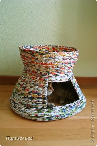 Вот дом для кота, который пугает и ловит синицу.... Фото 10