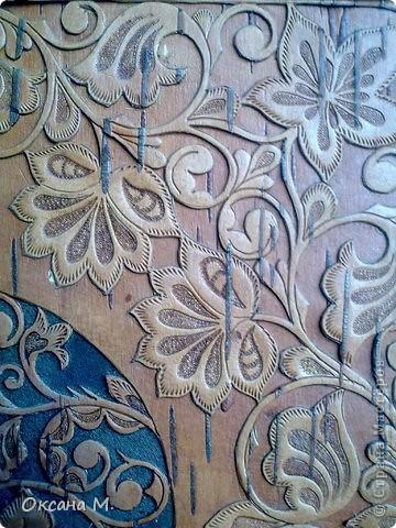 Картина, панно Вырезание, Резьба по дереву: Фотоальбом. Береста прорезная. Береста. Фото 4