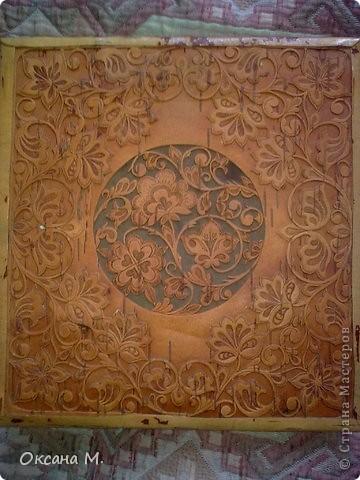 Картина, панно Вырезание, Резьба по дереву: Фотоальбом. Береста прорезная. Береста. Фото 2