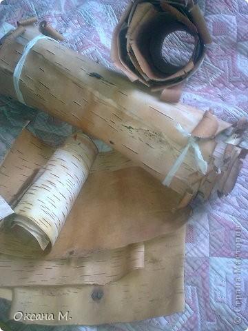 Картина, панно Вырезание, Резьба по дереву: Фотоальбом. Береста прорезная. Береста. Фото 7
