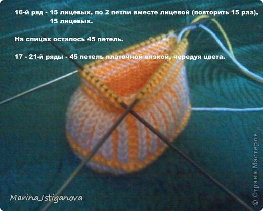 Мастер класс вязания крючком и на спицах  816