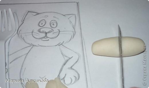 Мастер-класс Лепка: Котик-коток Тесто соленое. Фото 6