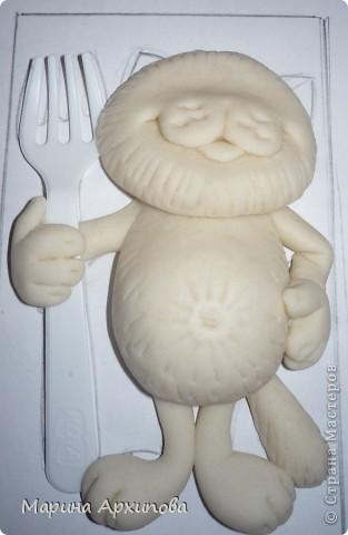 Мастер-класс Лепка: Котик-коток Тесто соленое. Фото 12