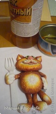 Мастер-класс Лепка: Котик-коток Тесто соленое. Фото 18