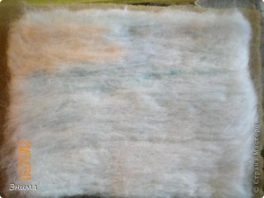 Интерьер, Картина, панно, Мастер-класс Фильцевание: Карина из шерсти