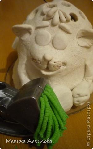 Мастер-класс Лепка: Ёжик Тихон Тесто соленое. Фото 33