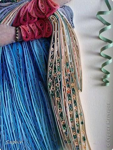 Картина, панно Квиллинг: Восток - дело тонкое Бумага, Бумажные полосы, Клей. Фото 5