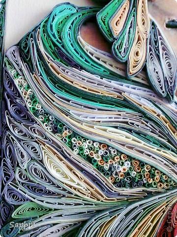 Картина, панно Квиллинг: Восток - дело тонкое Бумага, Бумажные полосы, Клей. Фото 4
