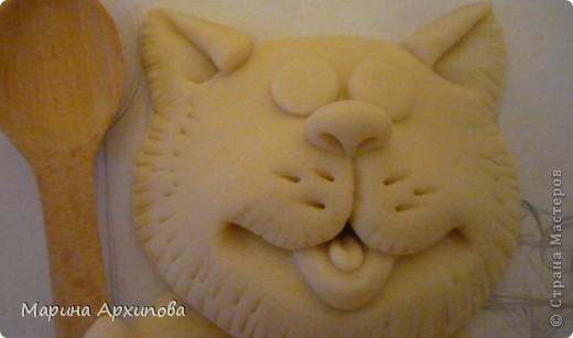 Мастер-класс Лепка: Опять кот-обжорик Тесто соленое. Фото 14