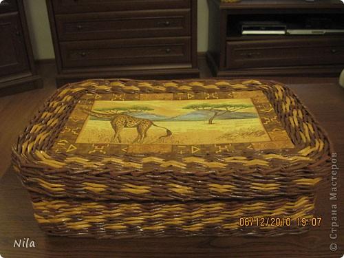 Мастер-класс Плетение: Плетение квадратной (прямоугольной ) коробки Бумага газетная. Фото 40