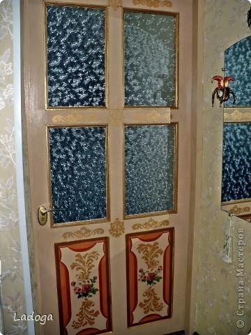 Декор предметов Декупаж: Дверь Дерево.  Фото 4.