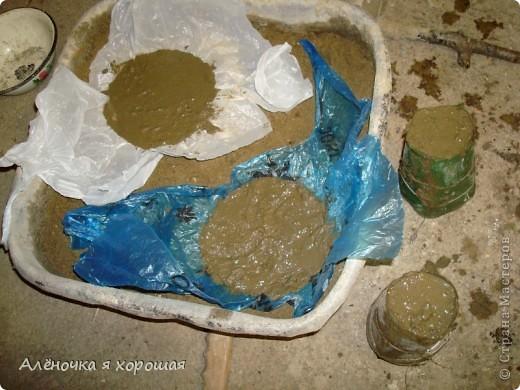 Мои первые грибочки из цемента!!!. Фото 5