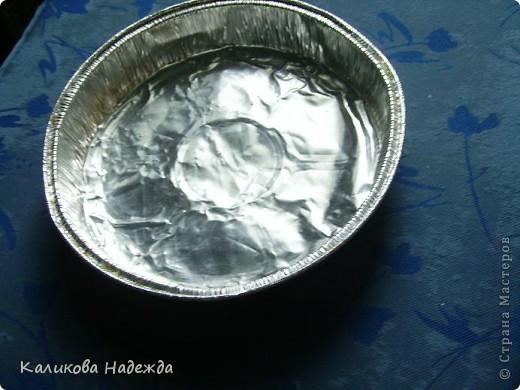 Материалы и инструменты Чеканка: Волшебная тарелочка или красота из бросового материала Фольга. Фото 1