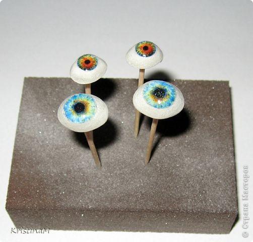 Куклы Шитьё: Эксперименты с глазами Капрон. Фото 9