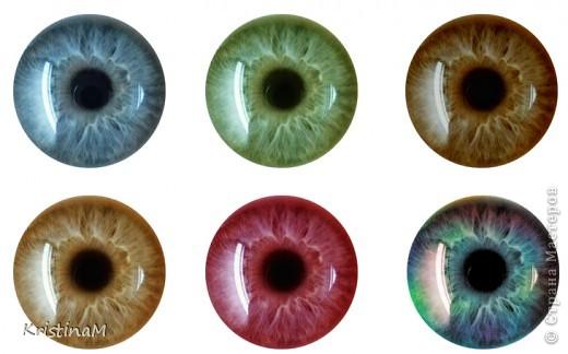 Куклы Шитьё: Эксперименты с глазами Капрон. Фото 11