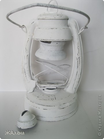 Мастер-класс Декупаж: МК Декупаж старой керосиновой лампы.