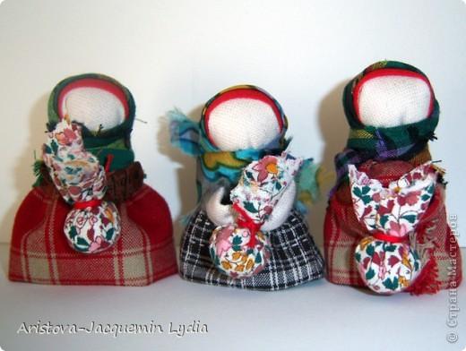 Куклы обереги берегиня из ткани с мастер классом