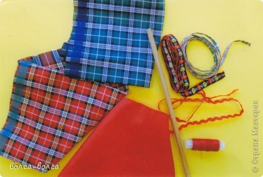 Мастер-класс Шитьё: МК Неразлучники (свадебная кукла) Ткань День семьи, Свадьба. Фото 2