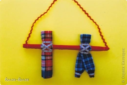 Мастер-класс Шитьё: МК Неразлучники (свадебная кукла) Ткань День семьи, Свадьба. Фото 5