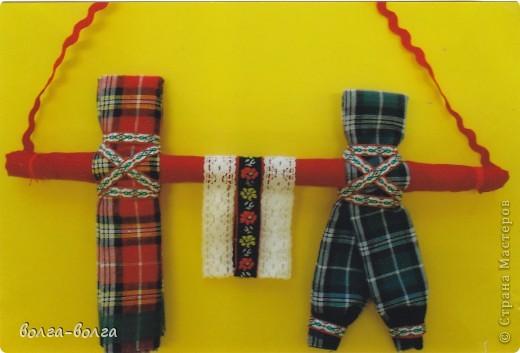 Мастер-класс Шитьё: МК Неразлучники (свадебная кукла) Ткань День семьи, Свадьба. Фото 1