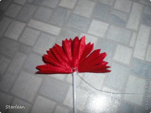 Мастер-класс Шитьё: хризантема  Ткань. Фото 6