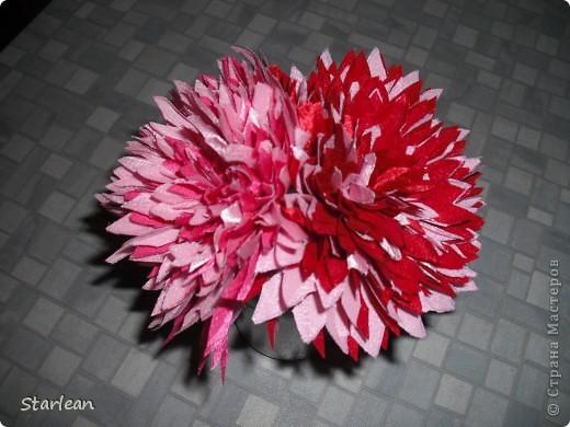 Мастер-класс Шитьё: хризантема  Ткань. Фото 9