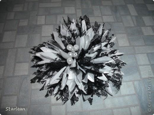 Мастер-класс Шитьё: хризантема  Ткань. Фото 10