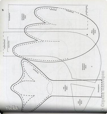 Поделка, изделие Шитьё: Гусь-пакетница + схемы выкроек Ткань Отдых. Фото 5
