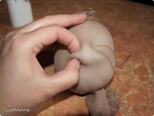 Куклы, Мастер-класс Шитьё: МК кукольный нос Капрон. Фото 14
