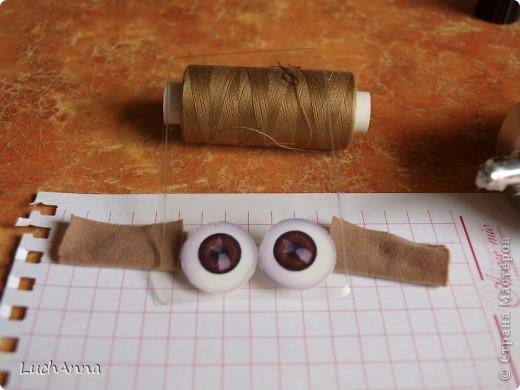 Куклы, Мастер-класс Шитьё: МК кукольный нос Капрон. Фото 45