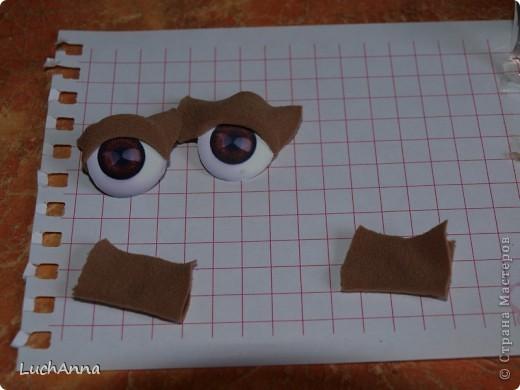 Куклы, Мастер-класс Шитьё: МК кукольный нос Капрон. Фото 46
