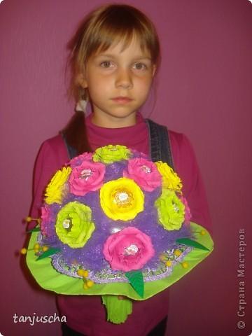 Свит-дизайн Бумагопластика, Оригами из кругов: Мои новые работы  Бумага гофрированная День рождения. Фото 5