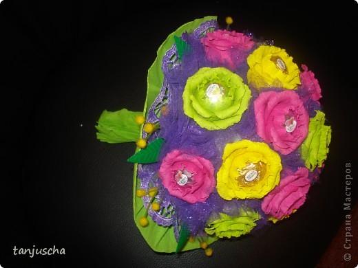 Свит-дизайн Бумагопластика, Оригами из кругов: Мои новые работы  Бумага гофрированная День рождения. Фото 6