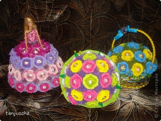 Свит-дизайн Бумагопластика, Оригами из кругов: Мои новые работы  Бумага гофрированная День рождения. Фото 1