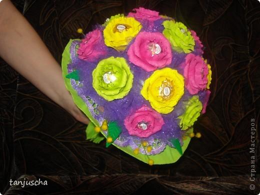 Свит-дизайн Бумагопластика, Оригами из кругов: Мои новые работы  Бумага гофрированная День рождения. Фото 8