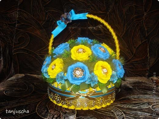Свит-дизайн Бумагопластика, Оригами из кругов: Мои новые работы  Бумага гофрированная День рождения. Фото 9