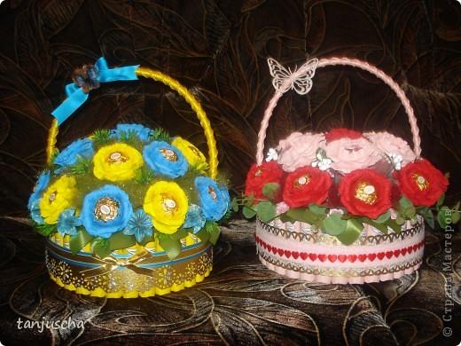 Свит-дизайн Бумагопластика, Оригами из кругов: Мои новые работы  Бумага гофрированная День рождения. Фото 12