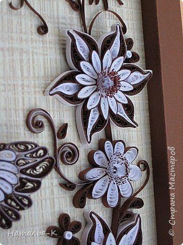 Картина, панно Квиллинг: Моё творение Бумажные полосы День рождения. Фото 6