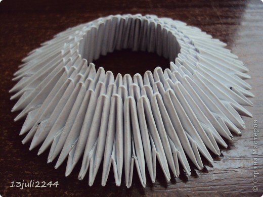 """Мастер-класс Оригами модульное: МК """"КОШЕЧКА"""" Бумага. Фото 6"""