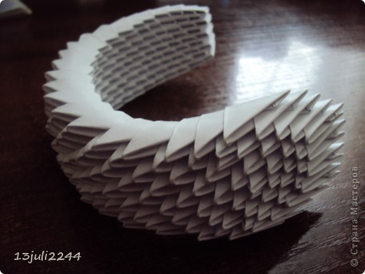 """Мастер-класс Оригами модульное: МК """"КОШЕЧКА"""" Бумага. Фото 38"""