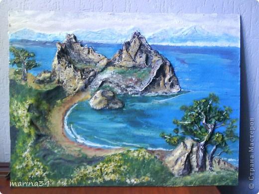 морской пейзаж. Фото 1