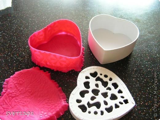Мастер-класс Лепка: Как я делаю шкатулки из холодного фарфора. Фарфор холодный 8 марта, День рождения. Фото 9