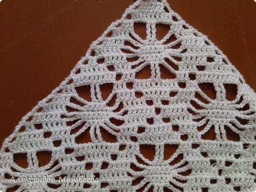 Гардероб Вязание крючком: шаль для любимой свекрови Нитки, Пряжа. Фото 2