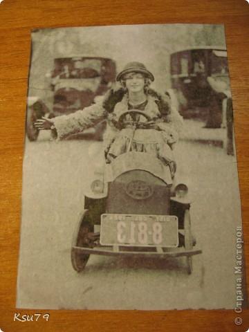 Мастер-класс Декупаж: обложки для паспорта (МК) Краска, Салфетки. Фото 6