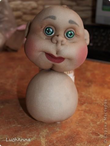"""Куклы, Мастер-класс Шитьё: МК по созданию куклы """"Замарашка"""". Часть 2 Капрон. Фото 4"""