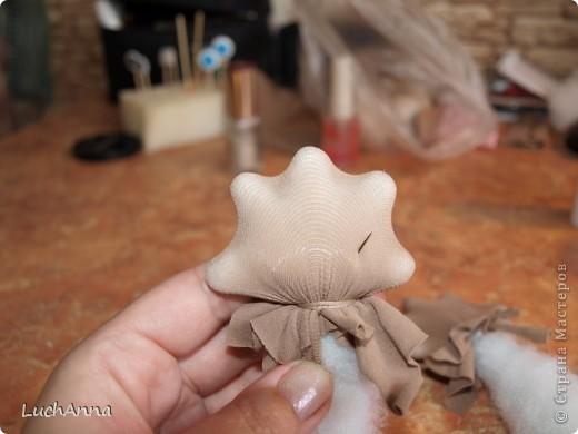 """Куклы, Мастер-класс Шитьё: МК по созданию куклы """"Замарашка"""". Часть 2 Капрон. Фото 22"""