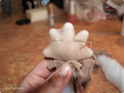 """Куклы, Мастер-класс Шитьё: МК по созданию куклы """"Замарашка"""". Часть 2 Капрон. Фото 24"""