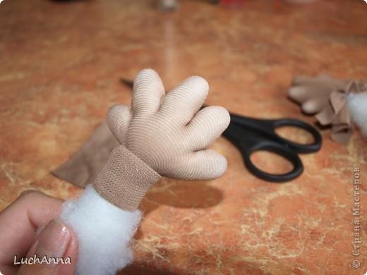 """Куклы, Мастер-класс Шитьё: МК по созданию куклы """"Замарашка"""". Часть 2 Капрон. Фото 27"""