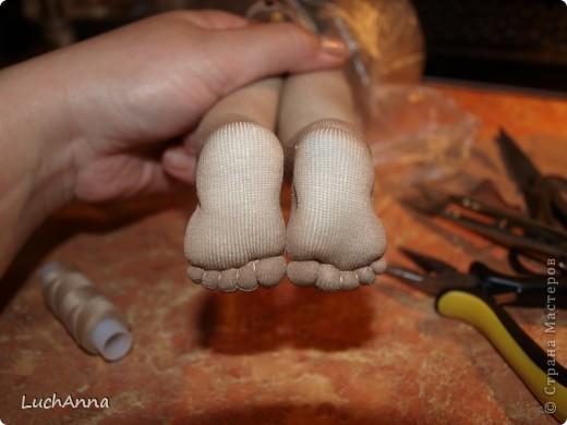"""Куклы, Мастер-класс Шитьё: МК по созданию куклы """"Замарашка"""". Часть 2 Капрон. Фото 37"""